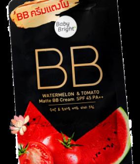 BB крем с Арбузом и Томатом Baby Bright BB Watermelon Tomato